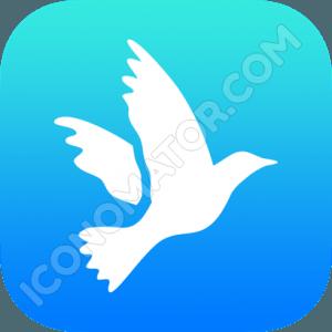 Peace White Dove Icon