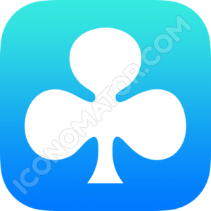 Card Game Clubs Icon