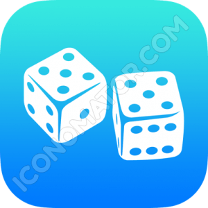 Dices Rolling Icon