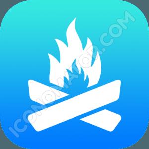 Danger Fire Icon