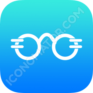 Glasses Funny Icon
