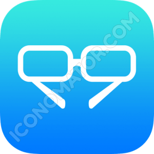 Glasses Outline Icon