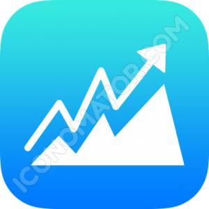 Graph Sales Up Icon