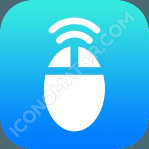 Mouse Wifi Icon