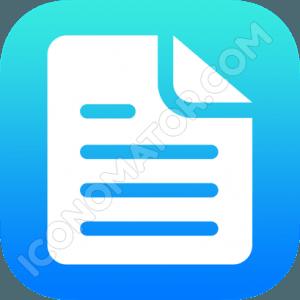Document Paragraph Icon