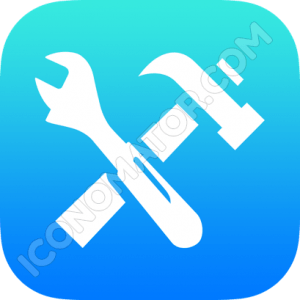 Tools Wrench & Hammer Icon