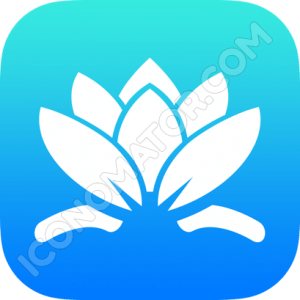 Water Lilly Icon
