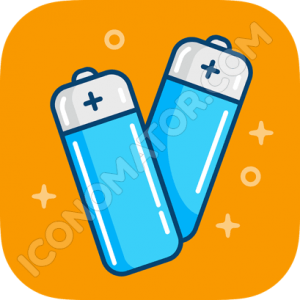 Fancy Battery Icon Icon