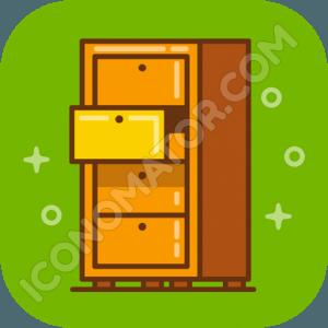 Archive Locker Icon