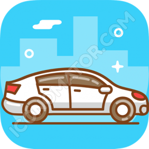 Car Sideview Icon