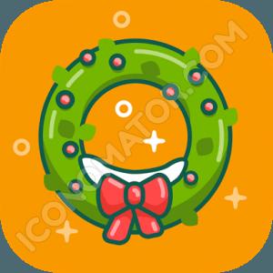 Christmas Wreath Icon