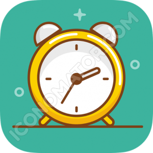 Alarm Clock Vintage Icon