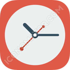 Clock Big Icon