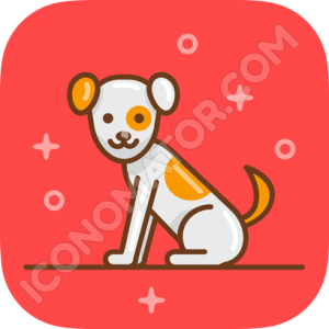 Dog Funny Icon