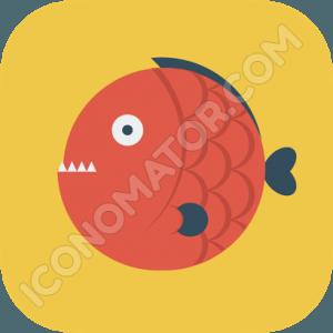 Fish Piranha Icon