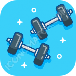 Fitness Gym Icon