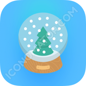 Glass Snowball Icon