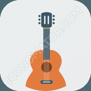 Classic Guitar Icon