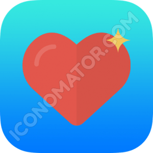 Heart Shining Icon