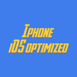 Iphone iOS12 optimized