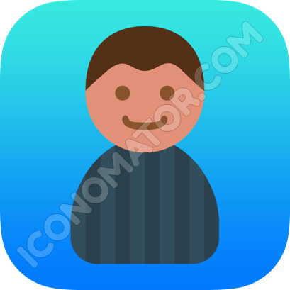 Male Cartoon Icon