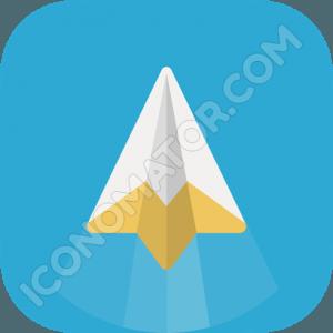 Paper Jet Airplane Icon