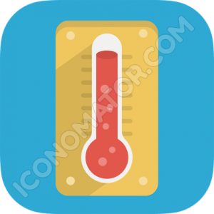 Thermometer Hot Icon