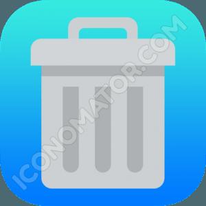 Trash Paper Icon