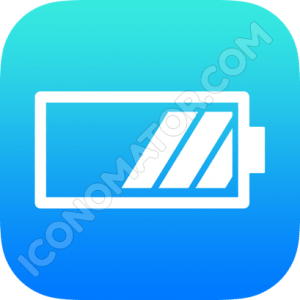 Battery Charging Icon