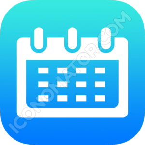Weekview Calendar Icon
