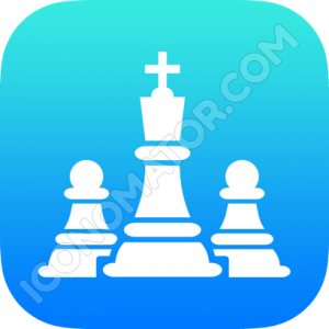 Chess Game King Icon