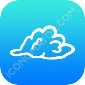 Cloud Cartoon Icon