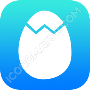 Egg Cracked Icon
