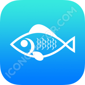 Fish Outline Icon