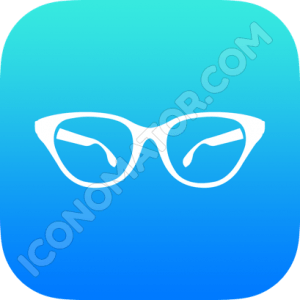Ladies Reading Glasses Icon