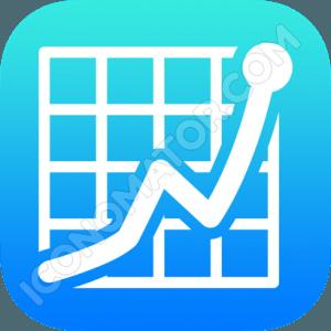 Graph Outline Icon