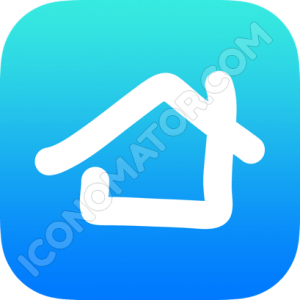 Home Simple Sketch Icon