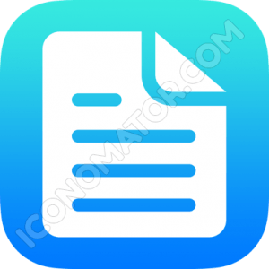 Document Paragraph Icon