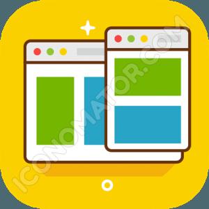 Webiste Wireframe Icon
