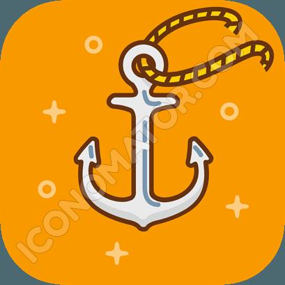 Anchor Classic Icon
