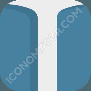 Anchor Blue Icon