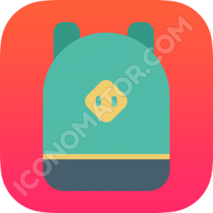 Hoildays Icon Backpack Turquoise