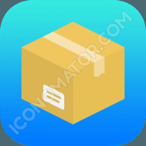 Postal Parcel Icon
