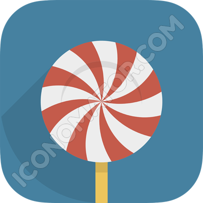 Candy Dark Icon