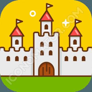 Medieval Castle Icon