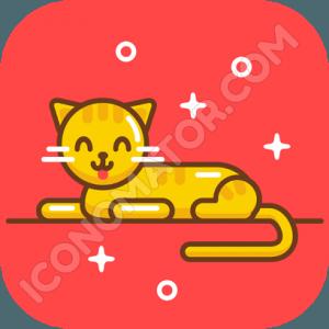 Smiling Cat Icon