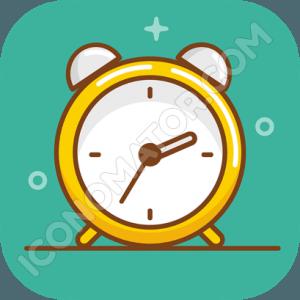 Alarm Clock Vintage Icon