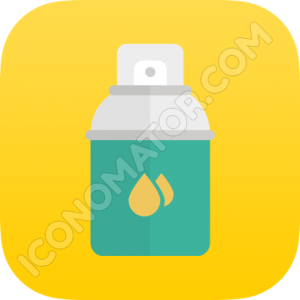 Color  Spray Paint Icon
