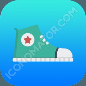 Converse Shoe Icon