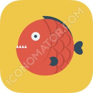 Fish Piranha Icon